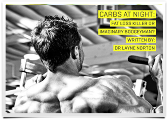 lose weight by reducing carbs at night